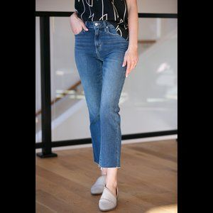 JOE'S JEANS The Callie Cropped Bootcut in Payton